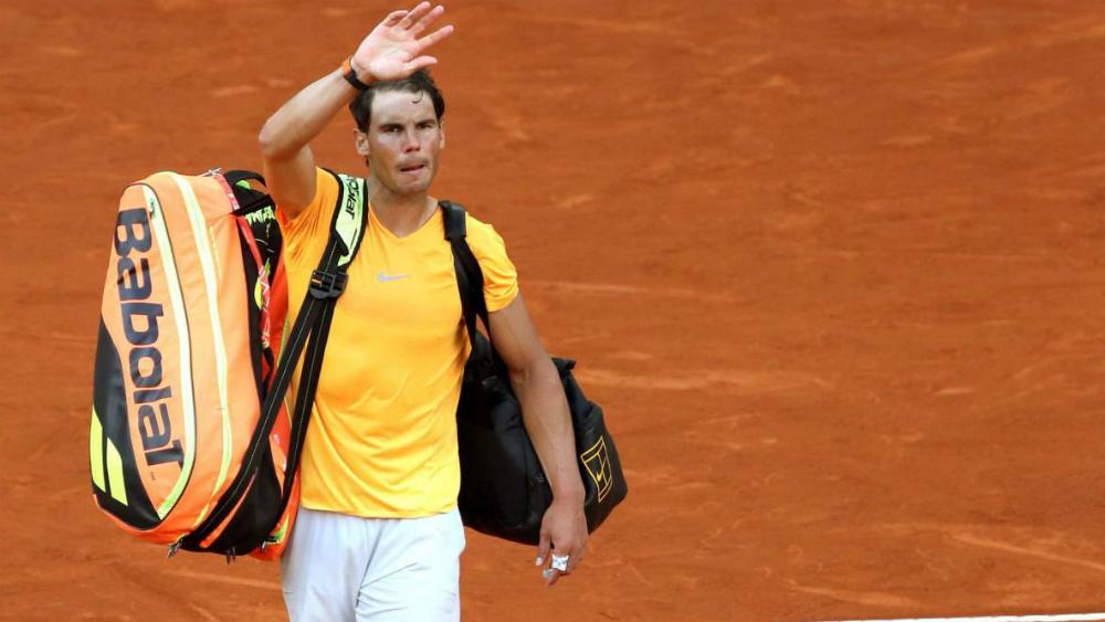Rafael Nadal es eliminado del Masters 1000 de Madrid - Foto de EFE