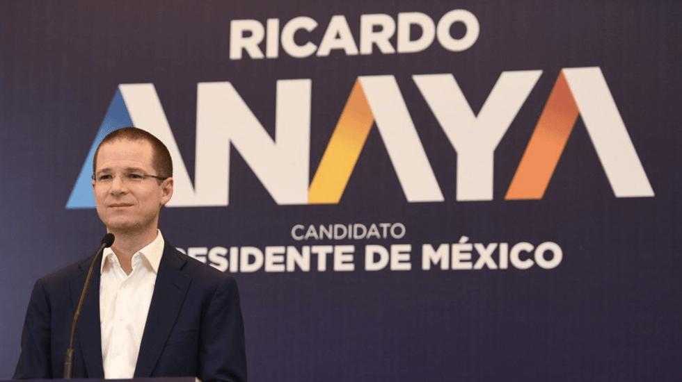 Anaya promete recuperar grandeza de Pemex