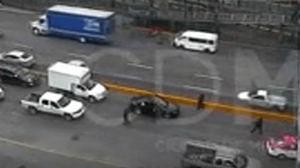 #Video Detienen a cuatro luego de robar 100 mil pesos a cuentahabiente