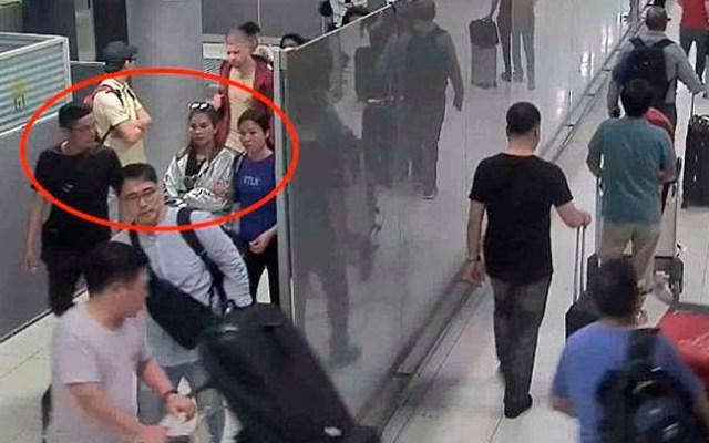 #Video Secuestran a mujer en aeropuerto de Bangkok