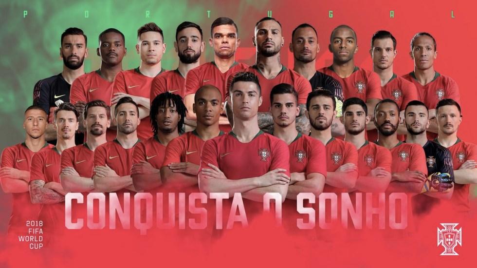 Portugal da a conocer su lista final para Rusia 2018 - Foto de Internet