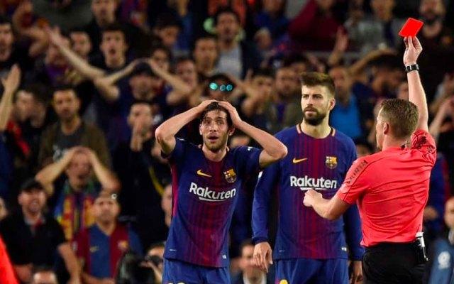 Suspenden cuatro partidos a Sergi Roberto - Foto de COPE