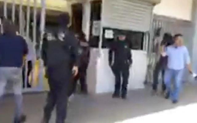 Realizan simulacro de ataque armado en secundaria de Tamaulipas - Captura de Pantalla