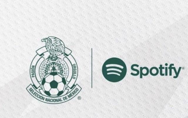 La Selección Mexicana incluye listas de canciones en Spotify - Foto de Twitter