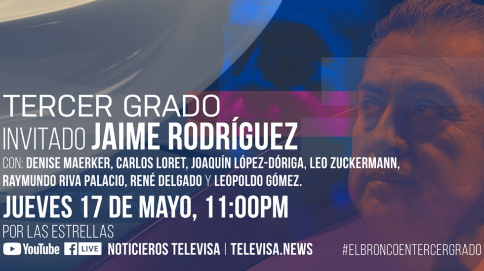 Jaime Rodríguez en 'Tercer Grado'