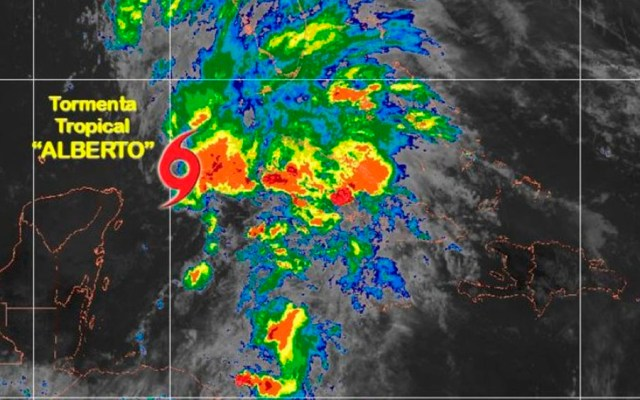 Florida declara emergencia por tormenta Alberto - Foto de @conagua_clima