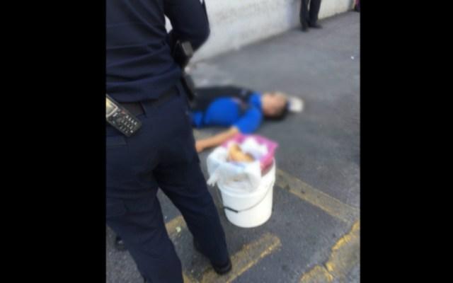 Robo a camioneta de valores en Iztapalapa deja un muerto; hay 4 detenidos - Foto de @ciemergencias