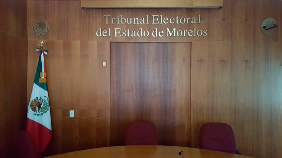 Acusan a Graco Ramírez de recortar presupuesto a Tribunal Electoral - Foto de @TEEMorelos