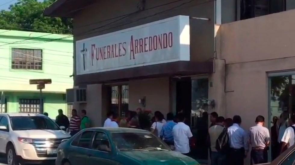 Velan restos de periodista asesinado en Tamaulipas