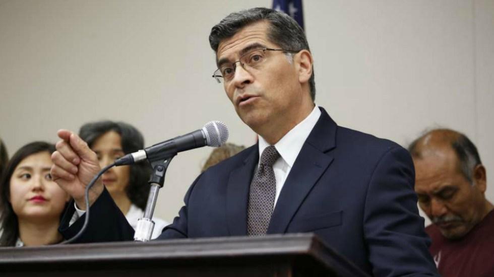 Pide procurador de California mantener el DACA a nivel nacional - Xavier Becerra, procurador de California. Foto de La Opinión