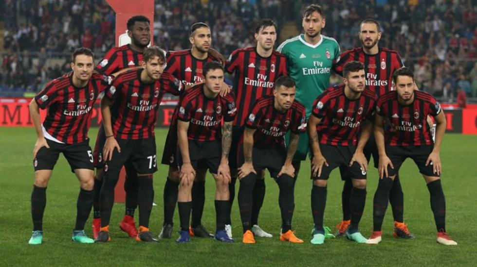 TAS anula exclusión del Milan de la Europa League - Foto de Getty Images
