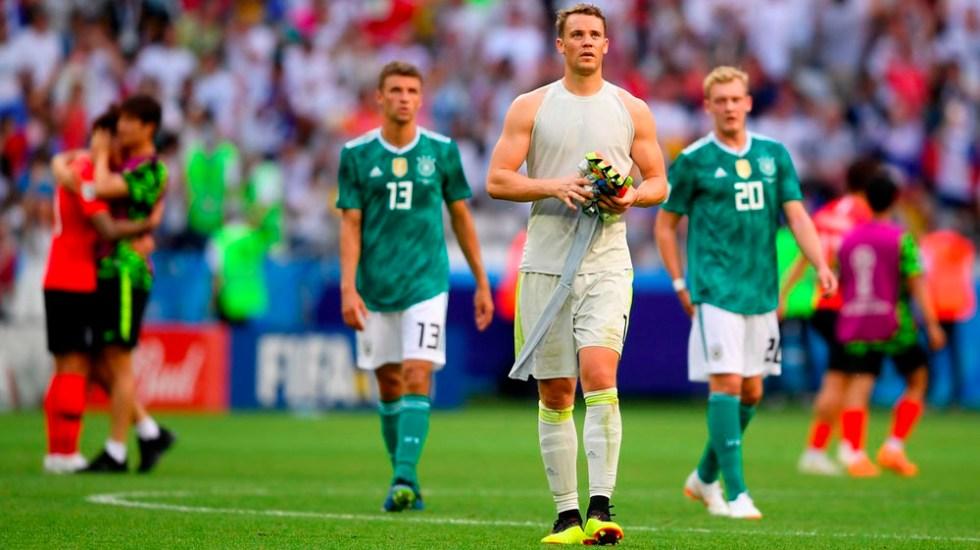 Sentimos no jugar como campeones del mundo: Alemania a aficionados - Foto de @DFB_Team_EN