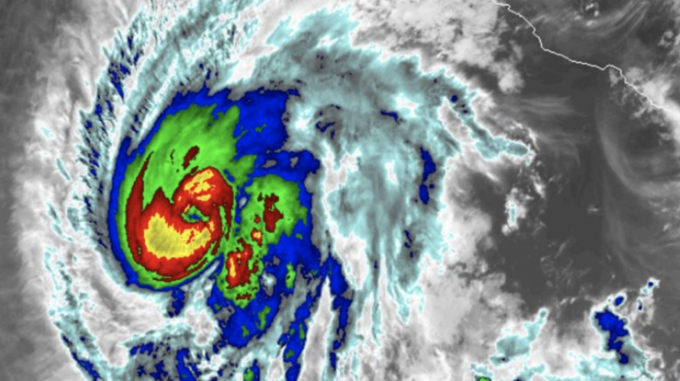 Aletta sube a huracán categoría dos - Foto de @conagua_clima