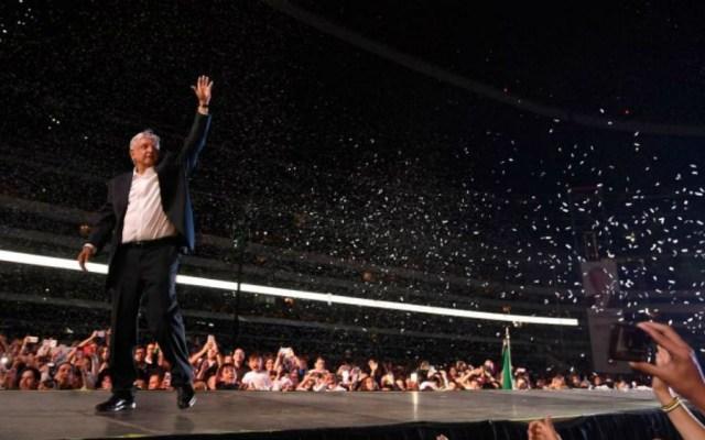 López Obrador, próximo presidente de México - Foto de AFP