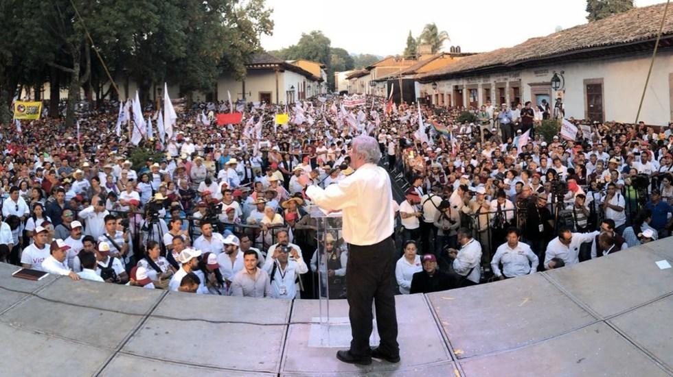 López Obrador aseguró que cuenta con plan para transición de poderes - Foto de Twitter López Obrador