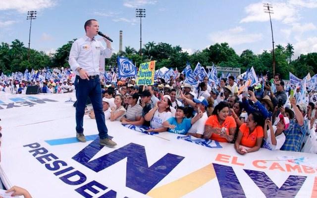 Anaya cerrará campaña en León - Foto de @IGCabezadeVaca