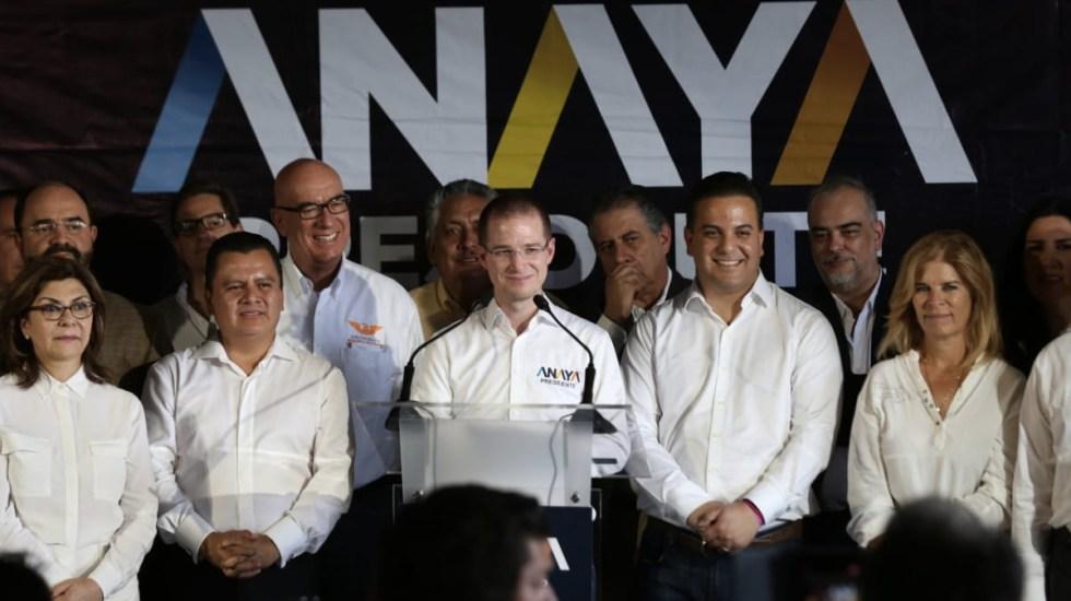 PRD, PAN y MC respaldan a Anaya tras publicación de video - Foto de Milenio