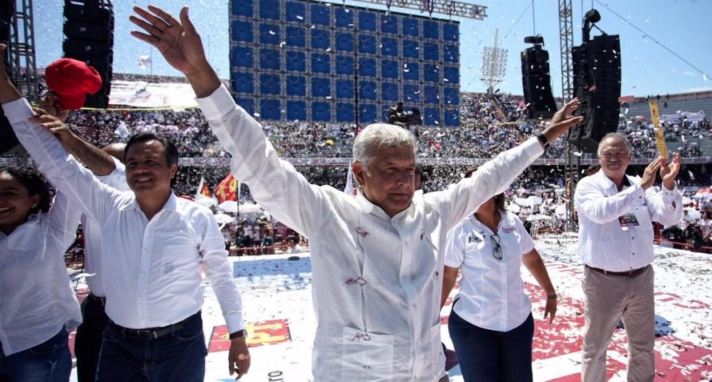 Triunfo de AMLO pasará a la historia como el único sin impugnar - Foto de @lopezobrador_