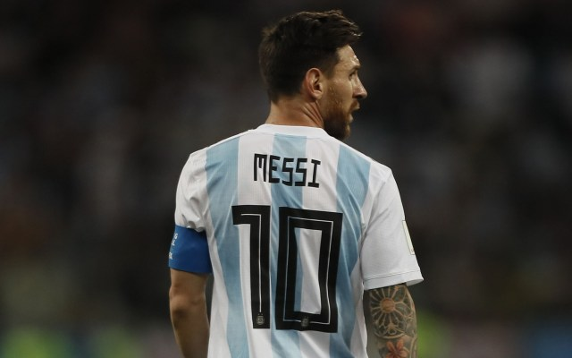 La convocatoria de Argentina sin Messi para sus próximos amistosos - Foto de Mexsport
