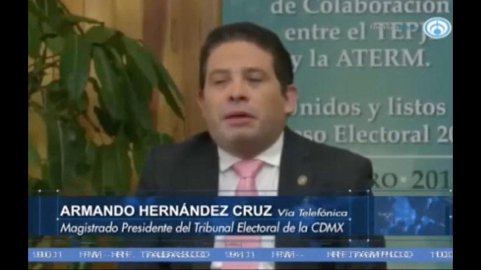 Se elegirán 242 cargos en la Ciudad de México: magistrado