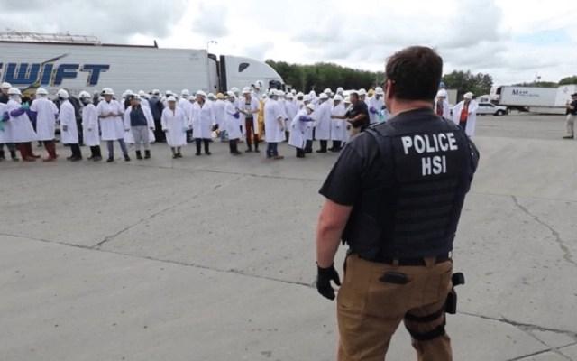 Arrestan a 146 inmigrantes en redada de Ohio - Foto de Twitter