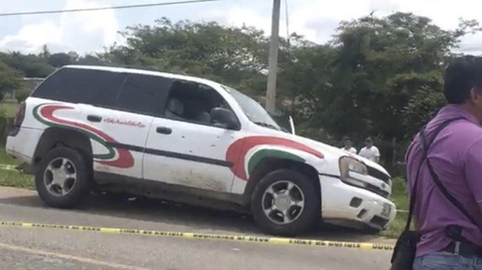 Atacan a candidato priísta a alcaldía en Chiapas - Foto de @pozol_time