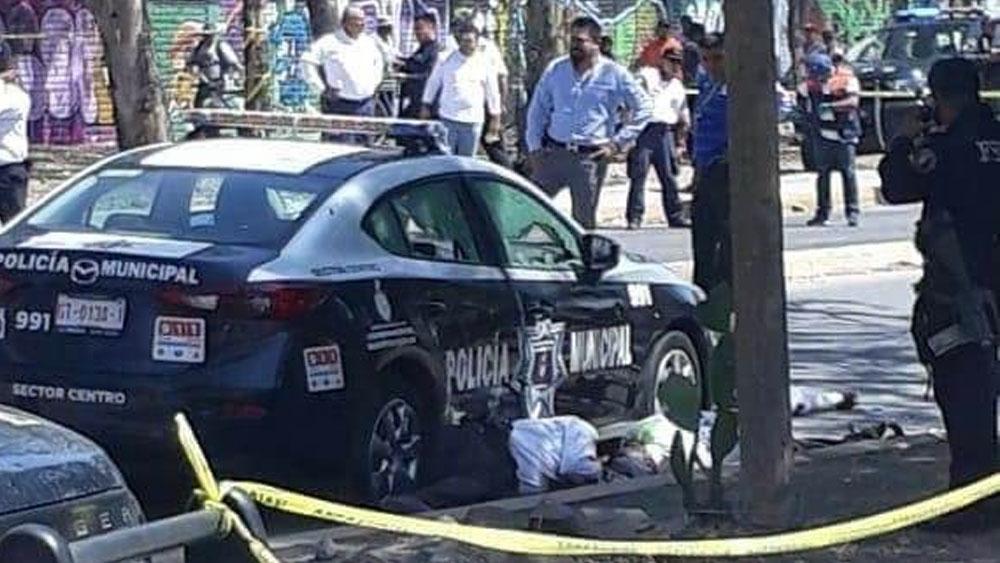 Matan a 6 agentes viales en Salamanca, Guanajuato