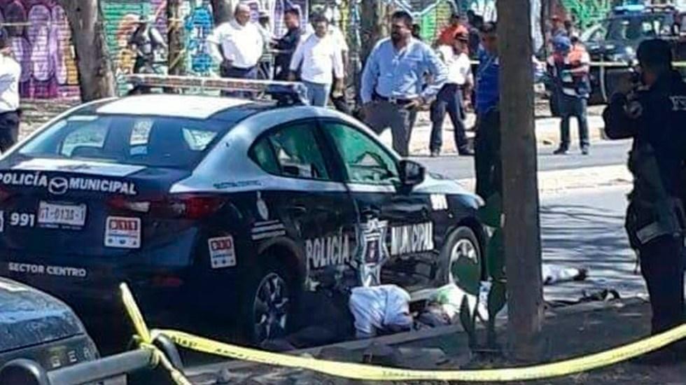 Asesinan a seis policías de tránsito en Guanajuato - Foto Especial