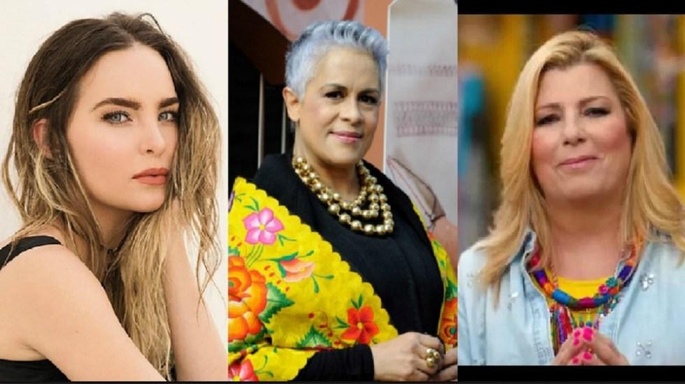 Belinda, Eugenia León y Margarita cerrarán campaña con AMLO - Fotos de internet