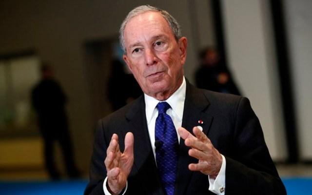 Michael Bloomberg apoyará con 80 mdd a demócratas - Foto de AP