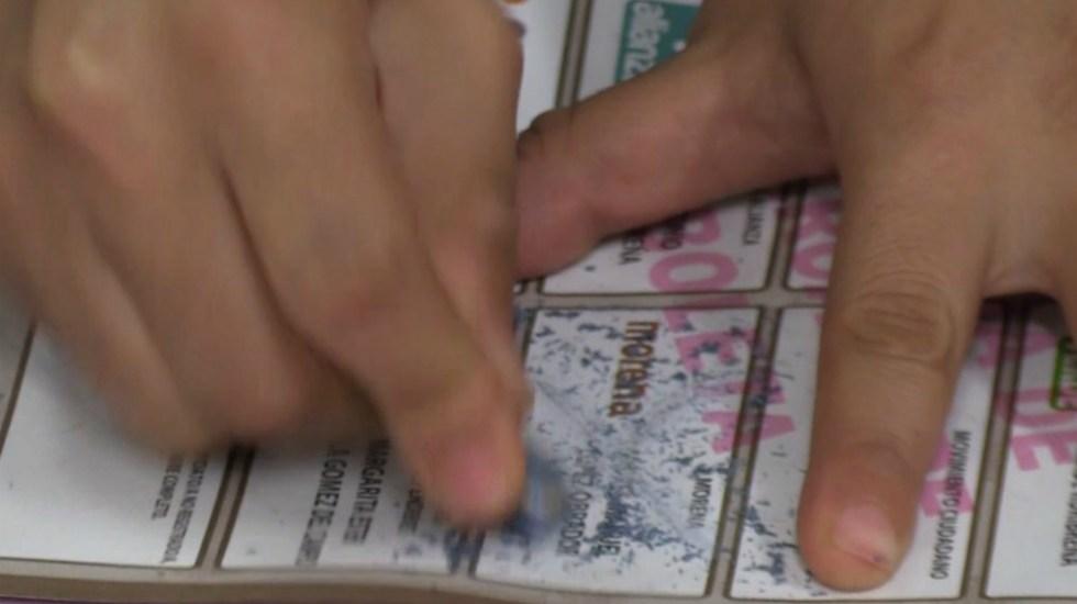 Falso que tinta y marcadores para votar se borran: INE - Foto de Quadratín