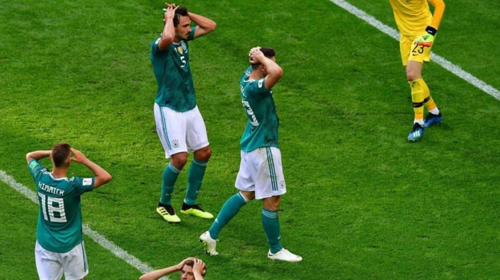 Lamentan en Alemania eliminación de su selección en Rusia 2018