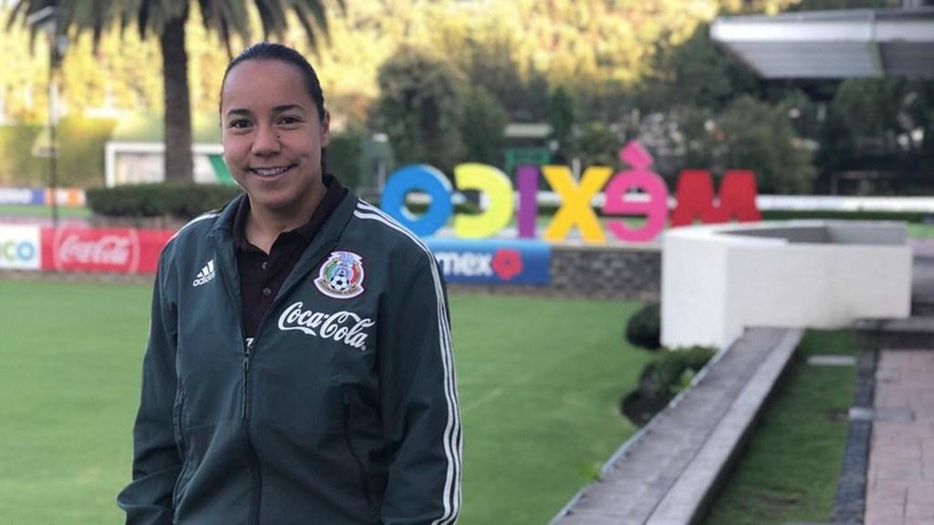 Charlyn Corral, la mejor futbolista mexicana - Foto de Twitter Charlyn Corral