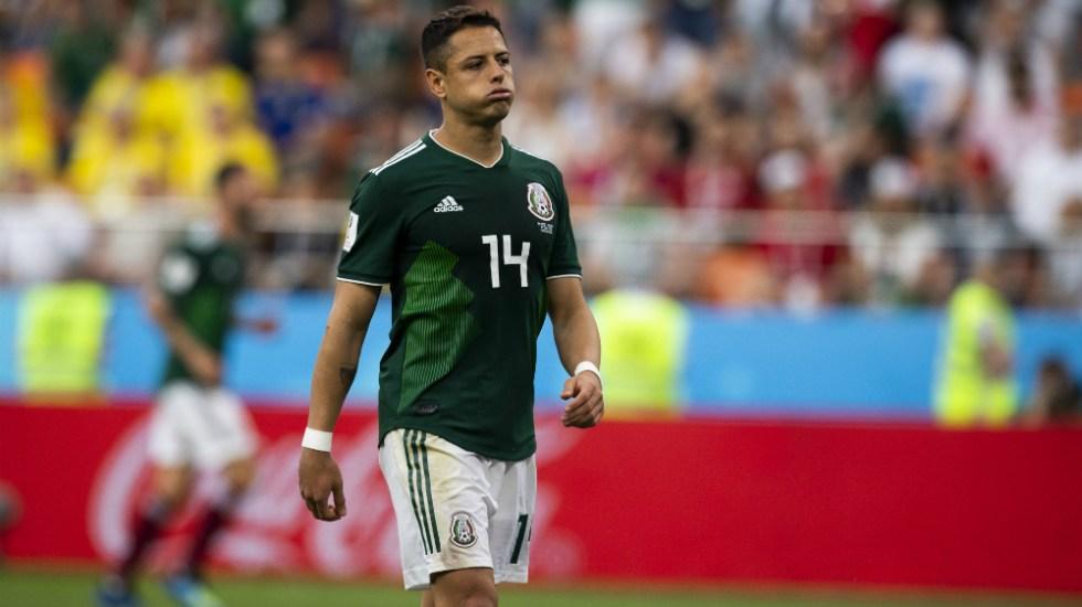 """""""Clasificamos gracias a nuestro trabajo"""": Javier Hernández - Foto de Mexsport"""
