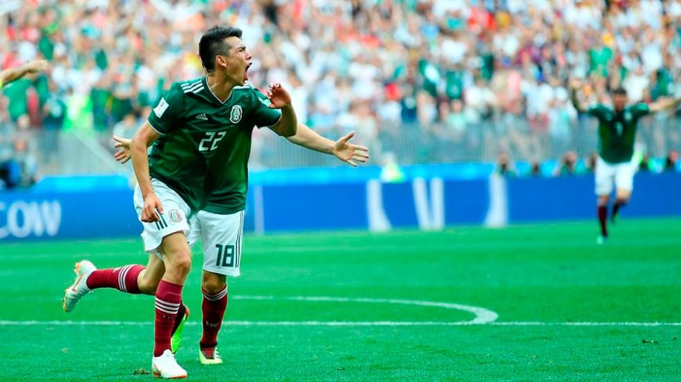 Alemania vs México, el juego más visto en Fase de Grupos de Rusia 2018 - Foto de @miseleccionmx