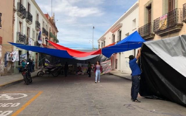 CNTE levanta paro de labores en Oaxaca - Foto de @nssoaxaca