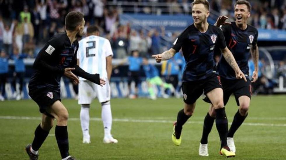Croacia clasifica a octavos con goleada sobre Argentina - Foto de Getty