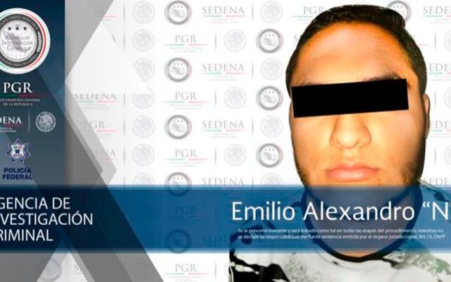 Detienen a presunto operador del CJNG relacionado con ataque de exfiscal - Foto de @PGR_mx