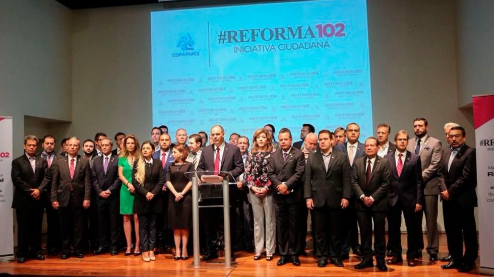 Coparmex lanza iniciativa ciudadana para fiscalía autónoma - Foto de @Coparmex