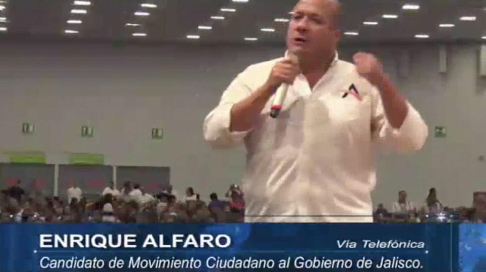 """""""Vamos a jugárnosla por nuestro estado"""": Enrique Alfaro"""