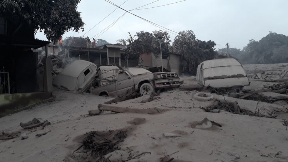 Descartan afectaciones en Chiapas tras erupción en Guatemala - Foto de SkyAlert