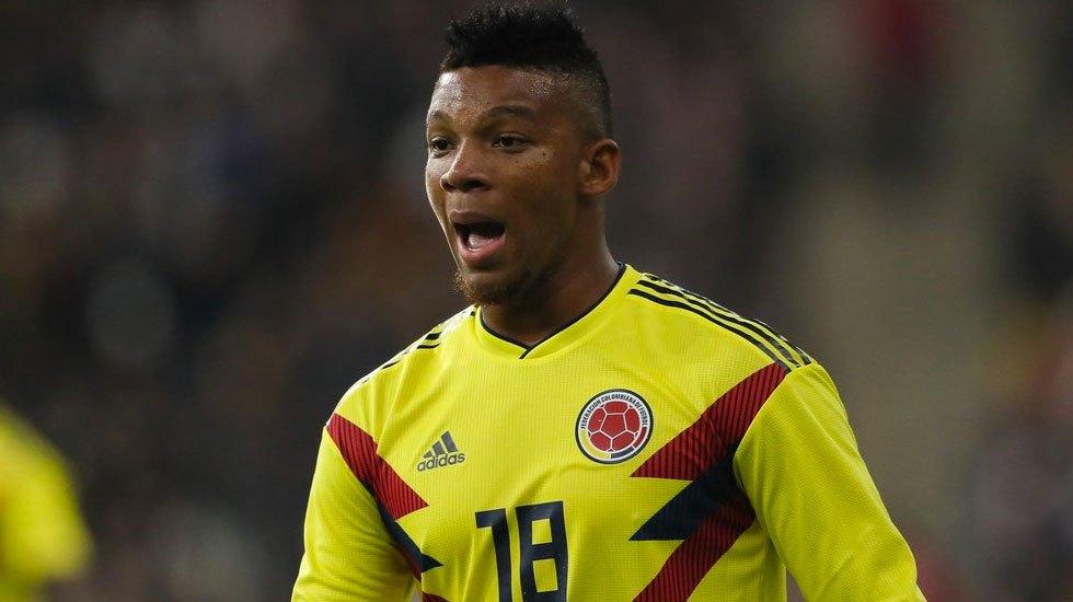 Colombia pierde a Frank Fabra