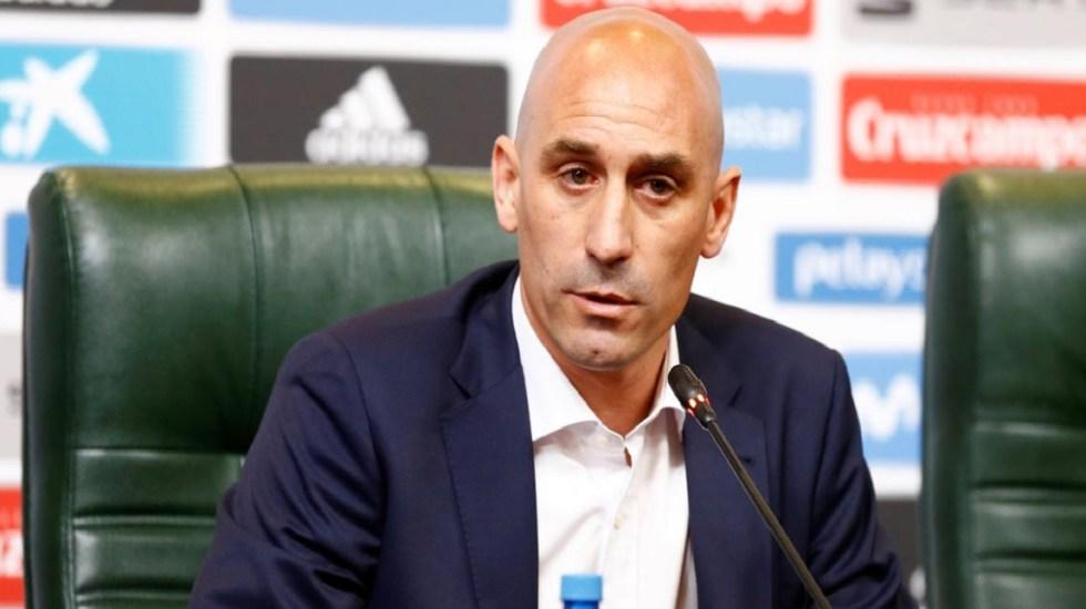 Luis Rubiales, presidente de la Federación Española de Futbol. Foto de @SportYou