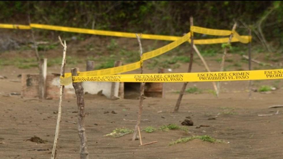 Hallan 16 cadáveres en fosas clandestinas de Nuevo Laredo - Foto de EFE
