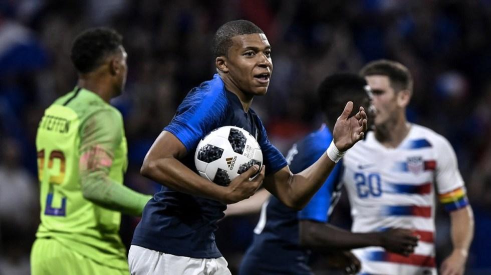 Francia empata 1-1 con Estados Unidos - Foto de ESPN