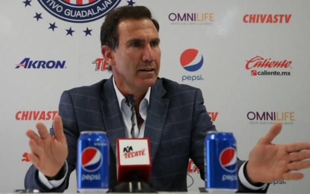 Matías Almeyda es candidato natural a dirigir la Selección: De Anda - Foto de Chivas