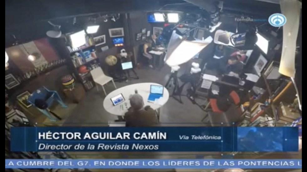 Importante aclarar relación entre AMLO y Empresarios: Héctor Aguilar Camín - Captura de Pantalla