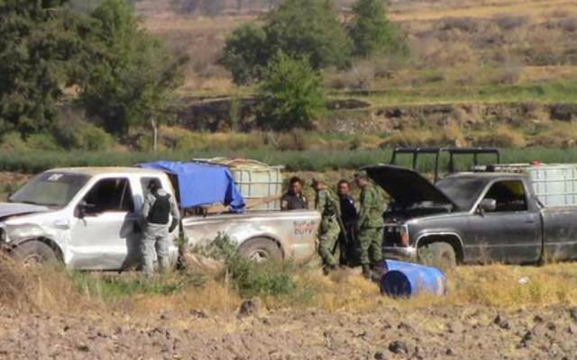 Los otros delitos que cometen los ladrones de combustible - Foto de Internet