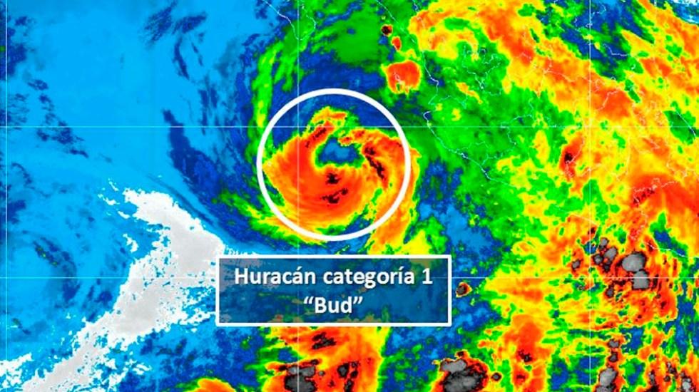 Bud provocará lluvias en el occidente, norte y centro del país - Foto de @conagua_clima