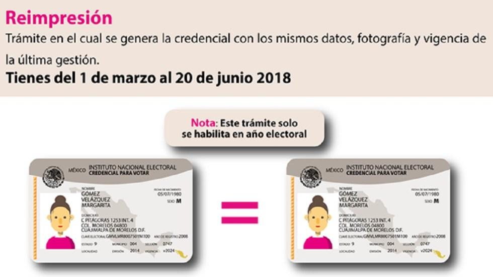 INE da última oportunidad para votar a quienes no tienen credencial - Foto del INE